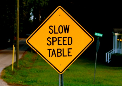 Slow Speed Table